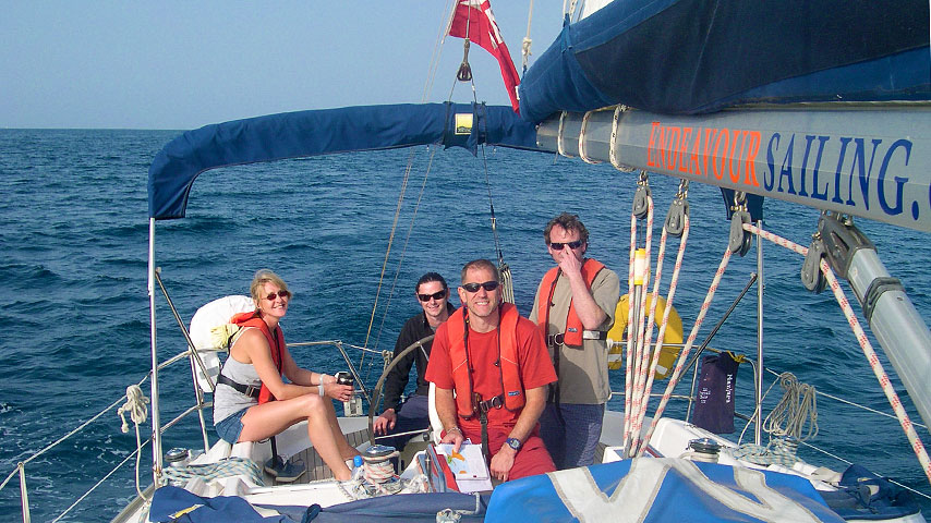 RYA Competent Crew Sailing Course (tidal)